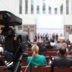 Aufbau Livestraming Bildungspolitisches Forum