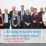 Gruppenfoto Bildungspolitisches Forum 2019