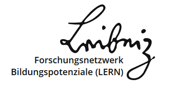 Logo LERN mit Schriftzug Forschungnetzwerk Bildungspotenziale (LERN)